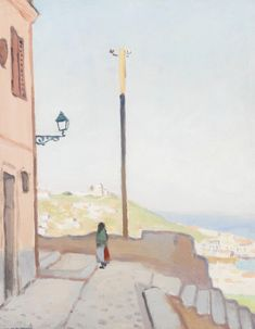 Albert Marquet (French, Alger, vue de la Casbah, Albert Marquet was a French painter, associated with the Fauvist movement. He initially became one of the Fauve painters and a lifelong friend of Henri Matisse. Art Painting, Landscape Paintings, Fine Art, Impressionist Art, Painter, Fauvist, Artist, Painting, Fauvism