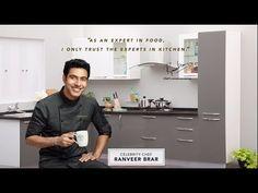 Modular Kitchen - YouTube L Shaped Kitchen Designs, Smart Kitchen, New Home Designs, Traditional Design, Home Deco, Blouse Designs, Pantry, Ss, New Homes
