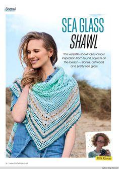 Crochet now 2017 Crochet Scarves, Crochet Shawl, Free Crochet, Caron Simply Soft, Crochet Magazine, Drops Design, Crochet Accessories, Color Inspiration, Free Pattern