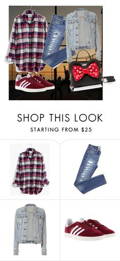 """Casual chic"" by alessandra-lomartire on Polyvore featuring moda, Madewell, rag & bone, adidas e Kate Spade"