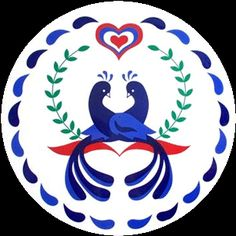 Love, Marriage & Happiness Hex Sign Dutch