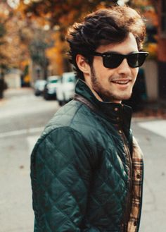 The unabridged, photographic tale & life of New Englanders Kiel James Patrick and Sarah Vickers. Preppy Boys, Stud Muffin, Prep Style, Club Style, Men's Style, Lakme Fashion Week, Spring Street Style, Ladies Party, Quilted Jacket