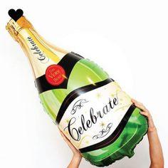 Champagnefles-folieb