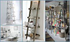15 DIY escalera de mano | Decorar tu casa es facilisimo.com