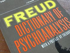 Freud, Dictionary of Psychoanalysis, 1966, Paperback, Psychology Science Reference