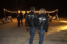 HIS AND HERS 110TH ANNIVERSARY EDITION LEATHER JACKETS. YES PLEASE!
