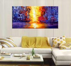 Tableau peinture abstraite disponible sur notre boutique Artwall and Co