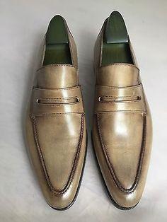 Brand new berluti andy genova leather venezia cashmere shoes uk 9.5 rrp £1350