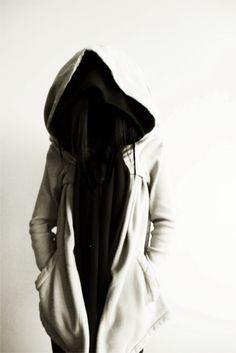 drkshdw jacket + zambesi hood scarf .