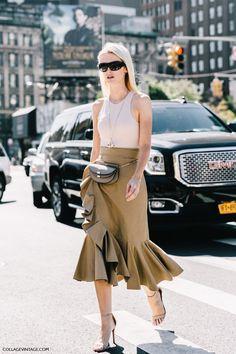 Halter neck top + skirt - NYFW