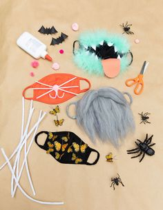 4 Cute Halloween Face Mask Crafts for Kids Halloween Face Mask, Cute Halloween, Halloween 2020, Halloween Crafts, Halloween Ideas, Fall Crafts, Face Masks For Kids, Halloween Activities, Crafts For Kids