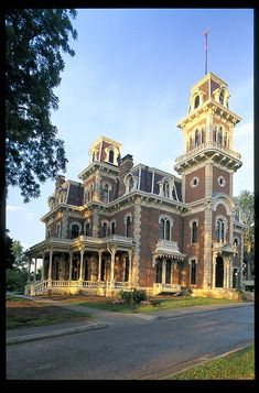 Victorian Home - Terrace Hill, Iowa