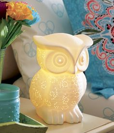 Owl lamp cute or what