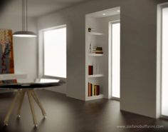 librerie cartongesso e legno - Cerca con Google
