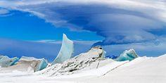 De fantastische foto werd gemaakt op Antarctica, tijdens Operation IceBridge. En het is slechts één van de prachtige foto's die NASA recente...