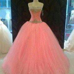 Gorgeous Pink Prom Dress!