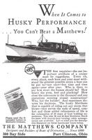 Matthews Stock Cruisers 1930 Ad Picture