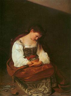 """Evolved, Baroque"" Mary Magdalene Caravaggio"