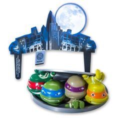 Teenage Mutant Ninja Turtles - Turtles to Action DecoSet Cake Decoration *** You can get more details by clicking on the image.