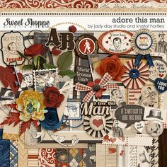 Adore This Man by Jady Day Studio and Krystal Hartley. $8.99