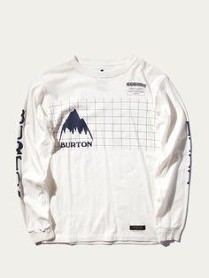NB. Grid Long Sleeve T-Shirt
