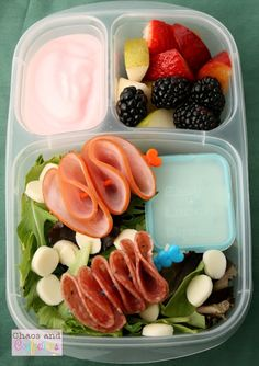 Chaos and Confections: Spring Lunches packed in @EasyLunchboxes