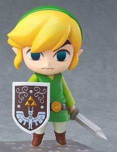 The Legend of Zelda The Wind Waker HD Nendoroid Figur Link The Wind Waker Ver. 10 cm