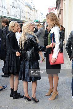 Карла Sozzani Franca Sozzani и Наталья Водянова покидает DELFINA ... Новости Фото | Getty Images