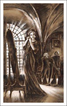 The Golden Pot: A Modern Fairytale (Der goldne Topf. Ein Märchen aus der neuen Zeit), E. T. A. Hoffmann.  Illustrator Fedor Ionin, 2014.