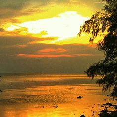 Sunset at Tidung Island
