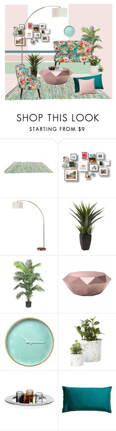 """""""HOME"""" by marinadusanic ❤ liked on Polyvore featuring interior, interiors, interior design, home, home decor, interior decorating, Nearly Natural, Zuo, Pottery Barn and Home"""