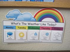 could be a neat way to change up the weather procedures... keep track of the week and the month
