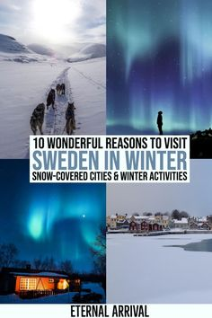 Want to visit Sweden in winter? From all the things to do in Stockholm in winter to the winter activities in Swedish Lapland (Abisko + Kiruna), there are countless reasons to spend winter in Sweden - here are just 10 of them. Best Places To Travel, Cool Places To Visit, Places To Go, Sweden Places To Visit, Vacation Places, Vacations, Finland Travel, Sweden Travel, Lappland