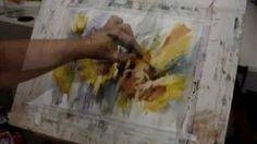Watercolor Demo III, via YouTube.   for inspiration