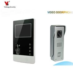 Yobang Security freeship 4.3 Video Door Video Monitor Kit Video Door Phone Intercom Door bell Doorbell Night Vision door bell  -- AliExpress Affiliate's Pin.  Click the image to find out more on AliExpress website