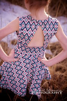 Paisley's Open Back Peplum Top & Dress - Simple Life Company