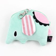 Mouton Coin Purse With Pull String
