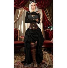 Wondering what is Steampunk? Visit our website for more information on the latest with photos and videos on Steampunk clothes, art, technology and more. Steampunk Couture, Gothic Steampunk, Steampunk Mode, Steampunk Cosplay, Steampunk Clothing, Victorian Gothic, Gothic Lolita, Steampunk Outfits, Victorian Dresses