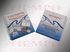Cuaderno corporativo Tiempo de pasta dura, plastificado mate.. A partir de 100 piezas lleva su información sin costo adicional. Personalice sus actividades!!!
