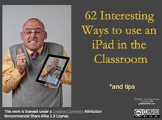 iPad use in the classroom - cool!!! I really have downloaded some of these awesome tools!! Def need to check this out!!!