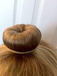 An easy ballet bun technique for girls with fine, thin hair.