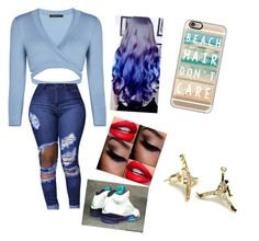 """""""Just a little something😄😙😍😘"""" by qveenblu ❤ liked on Polyvore featuring BCBGMAXAZRIA, Retrò and Casetify"""