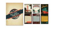 Wall Calendar   ART & SOUL OF AMERICA by Anderson Design group