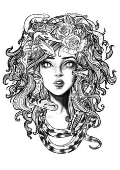 Image result for medusa tattoo
