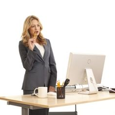 Office workers need to get on their feet