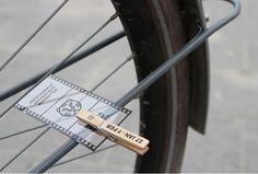 Klapper fiets
