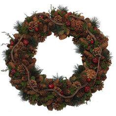 Winter Flora Wreath
