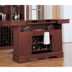 Coaster Furniture Governor Home Bar | Hayneedle