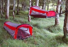 Crua Hybrid Works as Tent and Hammock
