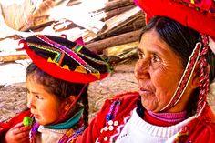 Alt und jung: Wie in jedem Land in Südamerika spielt auch in Peru Familie und Tradition eine große Rolle.